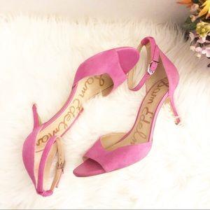 Sam Edelman Pink Open Toe Heel Shoes